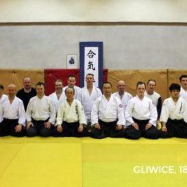 Shihan Kamimura i Shihan Saito w Gliwicach 2016